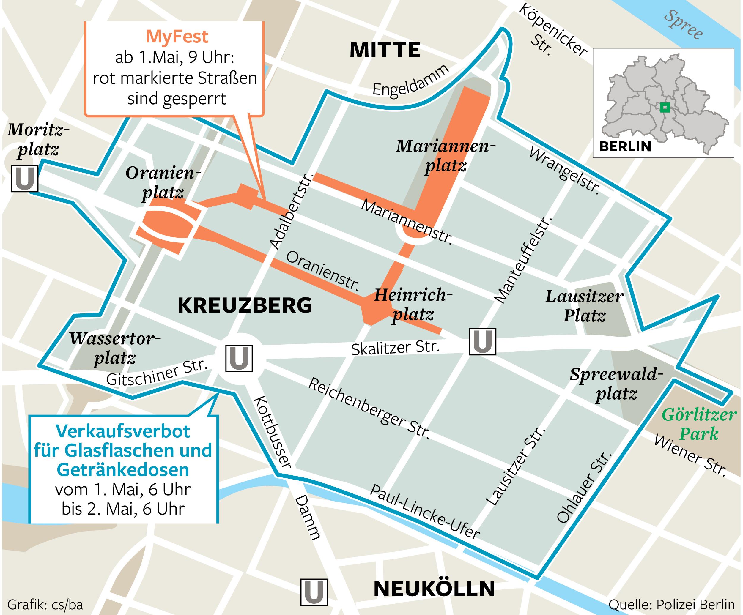 Der 1. Mai in Berlin