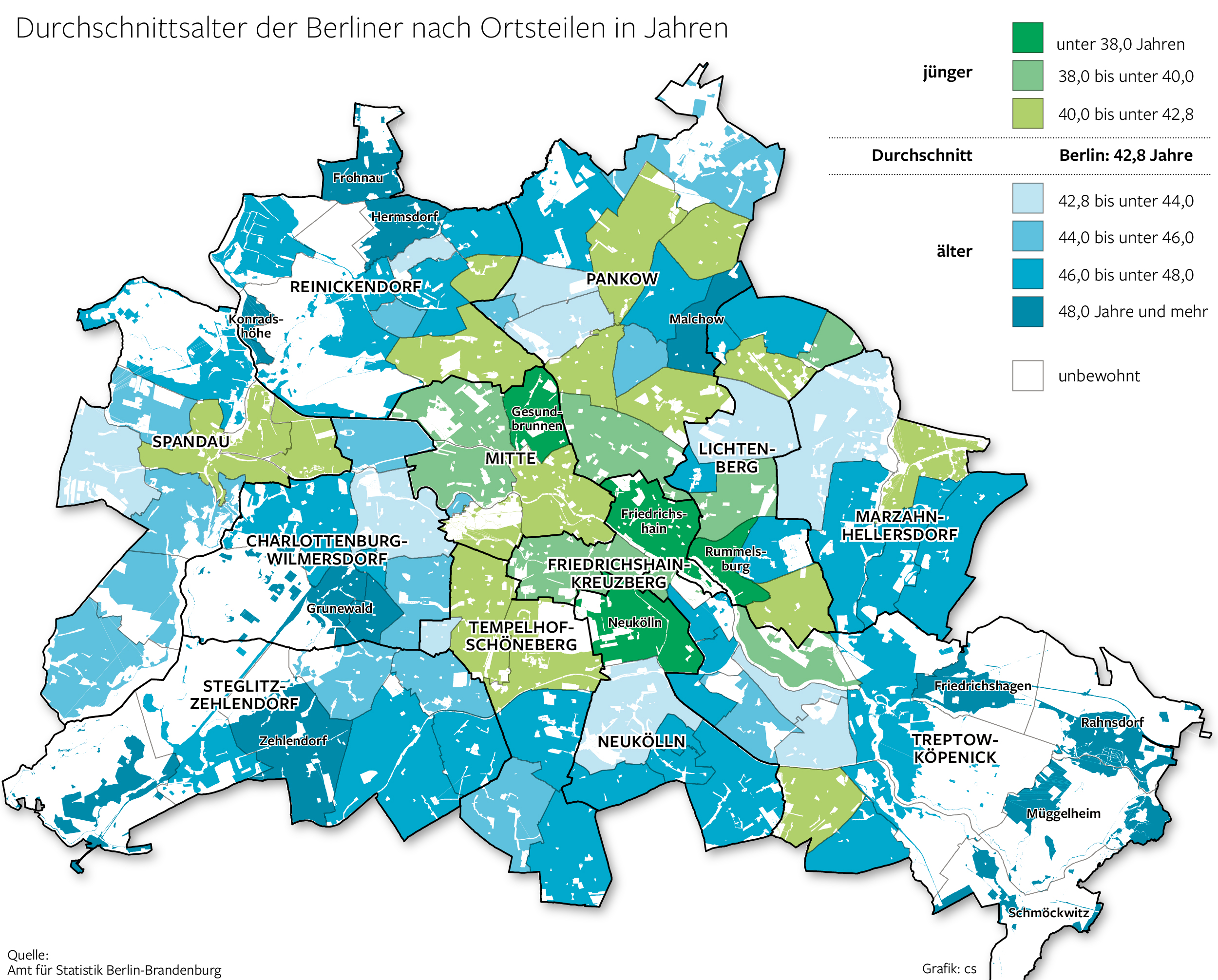 Karte London Stadtteile.Welcher Ortsteil In Berlin Am Jungsten Ist Berlin