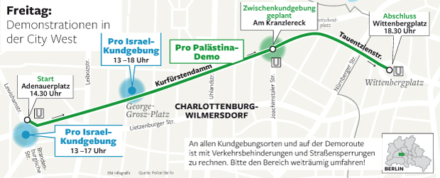 Demonstrationsroute