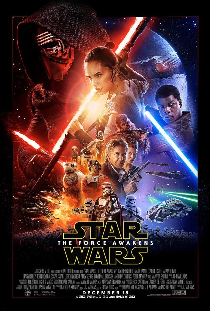 Das offizielle Star Wars-Filmposter