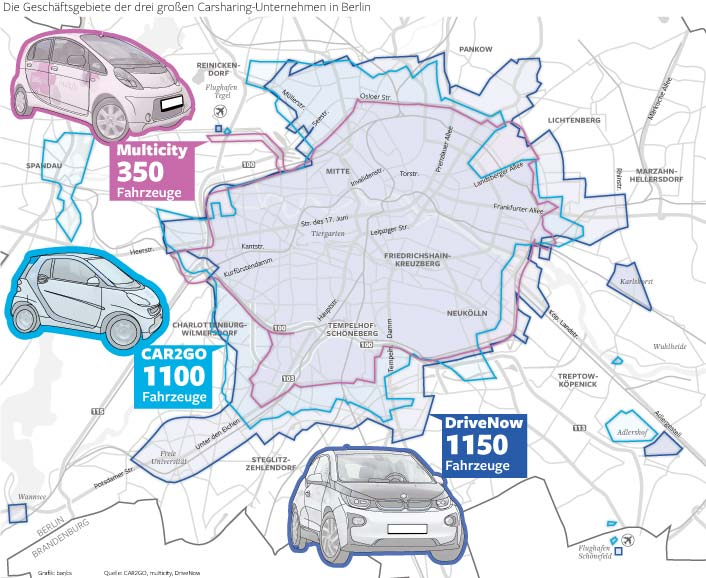 Geteiltes Auto Doppelte Freude Carsharing In Berlin Startups In