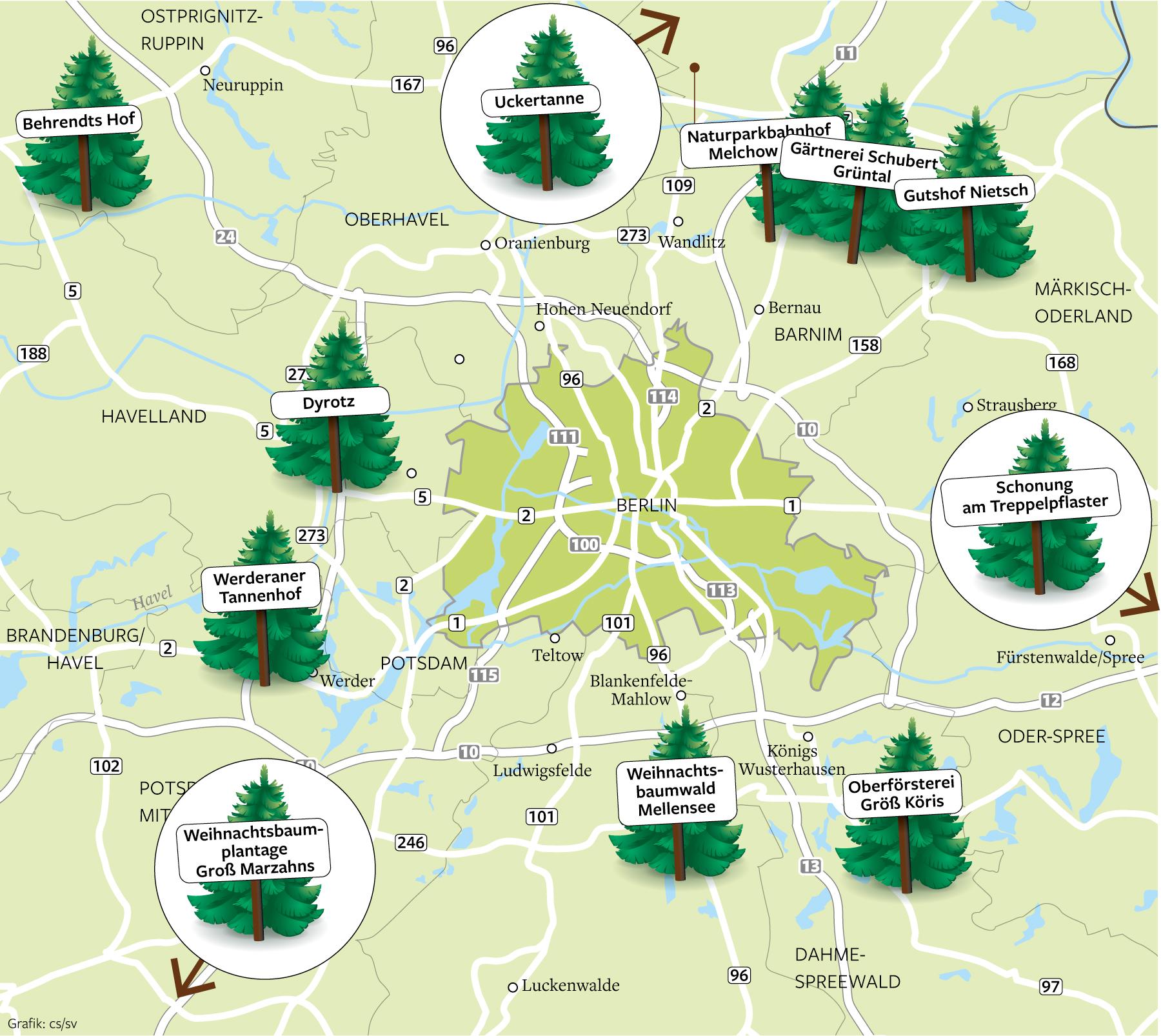 Weihnachtsbaum Selber Schlagen Berlin Brandenburg.Wo Man Seinen Weihnachtsbaum Selbst Fällen Kann Brandenburg