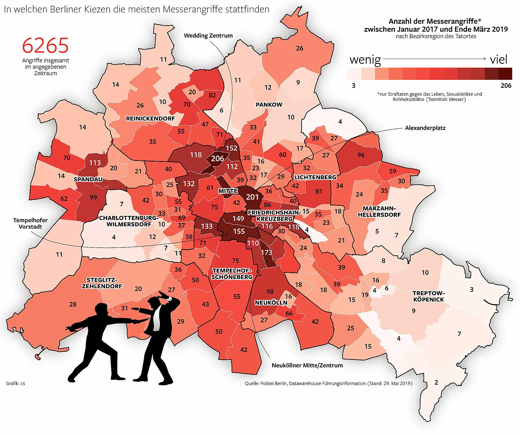 Berlin Gefährliche Orte