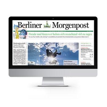 Berliner Morgenpost Einzelausgabe E-Paper