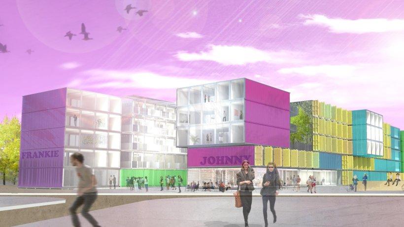 im pl nterwald entsteht containerdorf f r studenten wohnen berliner morgenpost. Black Bedroom Furniture Sets. Home Design Ideas